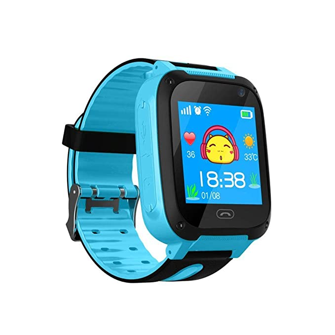 Sholdnut Kids Smart Wrist Watch, Waterproof Digital Watch with Anti-Lost SOS Call, GPS Tracker Smartwatch Gift for Children