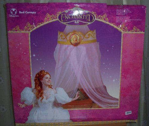 Amazon.com Disney Store Enchanted Giselle Bed Canopy Kitchen u0026 Dining : disney bed canopy - memphite.com