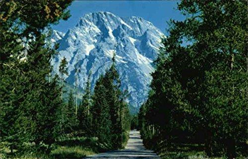 Mt. Moran Grand Teton National Park Wyoming Original Vintage (Mt Moran Grand)