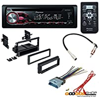 CAR CD STEREO RECEIVER DASH INSTALL MOUNTING KIT WIRE HARNESS RADIO ANTENNA FOR BUICK CADILLAC CHEVROLET GMC HUMMER ISUZU OLDSMOBILE PONTIAC