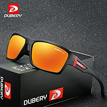 6ea7703d37 DUBERY Polarized Shades Male for Men Safety Luxury Designer Oculos Sun  Glasses  Amazon.co.uk  Clothing