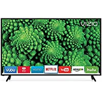 VIZIO D50F-E1 LED 1080p 120 Hz Wi-Fi Smart TV, 50 (Refurbished)