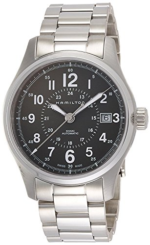 HAMILTON watch khaki field auto mechanical self-winding 10 water pressure H70595163 Men's [regular imported goods]