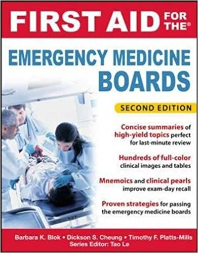 First Aid for the Emergency Medicine Boards 2 E (First Aid Series) 2nd  Edition b76a599e9e18