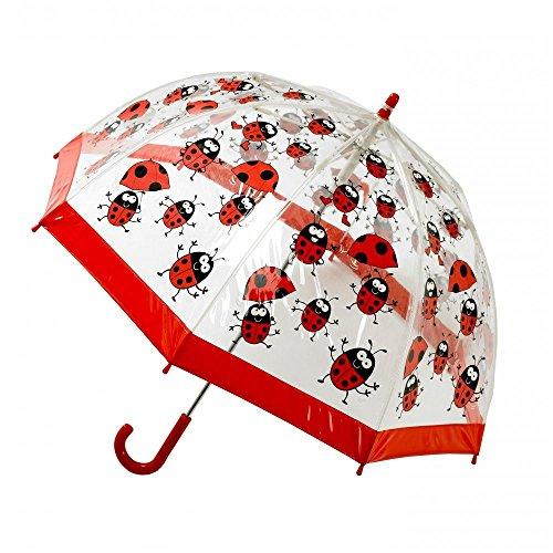 Parapluie transparent en PVC pour enfant toute saison Bugzz