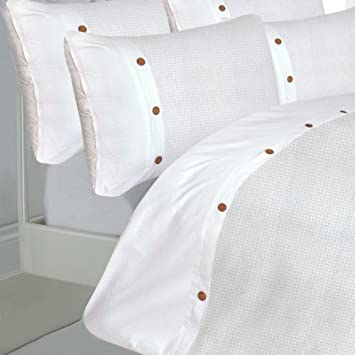 king size bed waffle white duvet quilt cover set white waffle detailing with 200