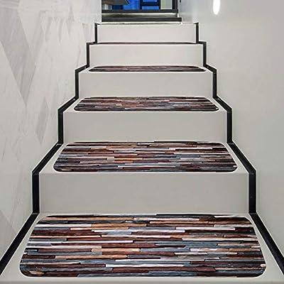 Chihen Almohadillas De La Escalera Patrón Colorido Tablón De ...