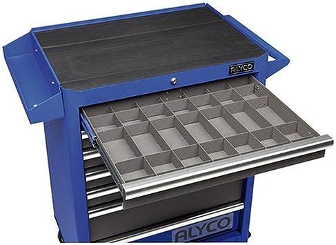 ALYCO 192699 - Pack de 10 divisores metalicos para cajon carro: Amazon.es: Bricolaje y herramientas