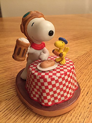 Peanuts Gallery Hallmark Here's to You - Snoopy Flying Ace Hand-Numbered Edition