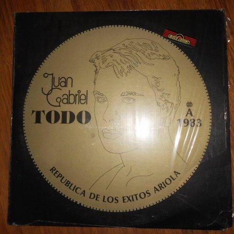 Juan Gabriel - Todo (Ariola // Vinyl) by Ariola