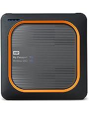 Western Digital Wdbamj5000Agy-Eesn My Passport Wireless Ssd 500 Gb Grijs