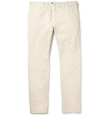 5824fa162b94 J.Crew 484 Slim-Fit Washed Cotton-Twill Chinos  Amazon.co.uk  Clothing