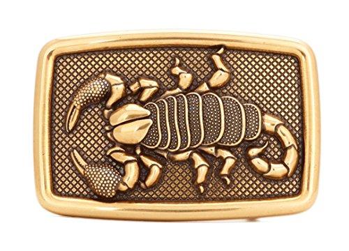 Gurscour Western Scorpion Belt Buckle - Bronze (Scorpion Buckle)