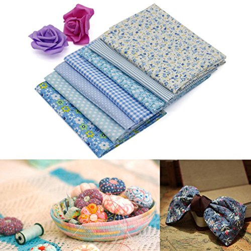 gillberry-7-pcs-cotton-patchwork-quilt-series-fabric-floral-charms-quarters-bundle-sewing-d