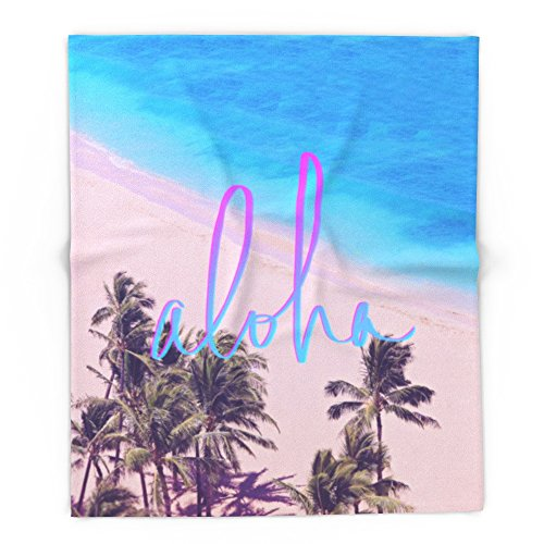 Society6 Aloha Hawaii 88'' x 104'' Blanket by Society6