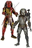 Predator / 1/4 Action Figure Series 3: Elder Predator and Big Red Predator Set of 2 (japan import) thumbnail