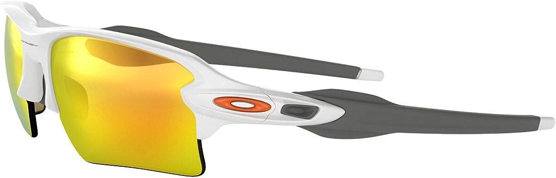 Oakley Sonnenbrille Flak 2.0 XL - Gafas de ciclismo, Blanco ...
