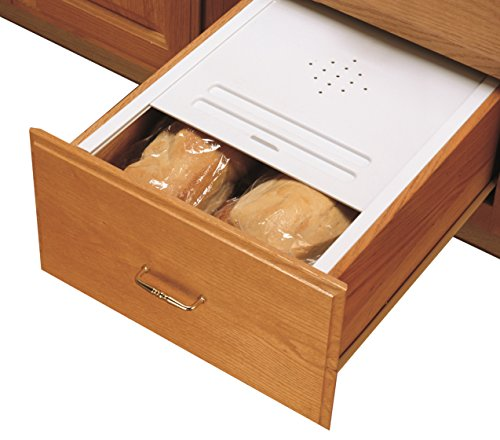 Rev-A-Shelf Small Bread Drawer Cover Kit Organizers, Almond (Kit Drawer Bread)