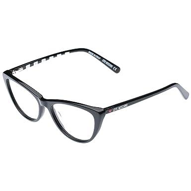 e317bf2c0b6a Love Moschino Cat Eye Black Women's Eyewear Frame - Ml006-53-16-135 ...
