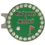 Giggle Golf Bling Isn't This A Gimme Golf Ball Marker with A Standard