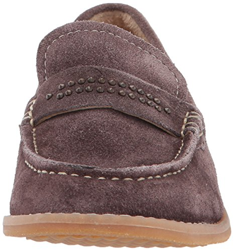 Hush Puppies Womens Aubree Chardon Slip-on Mocassino Marrone Scuro