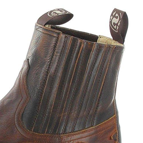 Boots 4660 Stivali Western Sendra Tan Uomo Marron HTSqwzSdxn