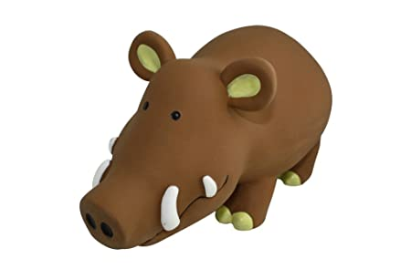 TOPZOO Jouet pour Chien Rhinocéros Latex  Amazon.fr  Animalerie f2aa1efebb53
