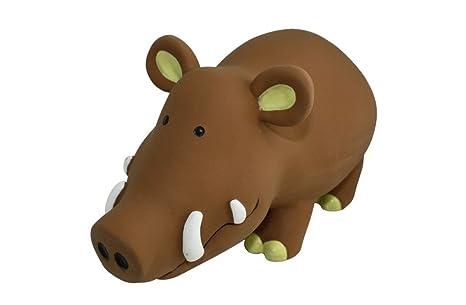 TOPZOO Jouet pour Chien Rhinocéros Latex  Amazon.fr  Animalerie e05ea70b40c