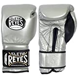 Cleto Reyes Hook & Loop Training Gloves - Velcro - Titanium 14-Ounce