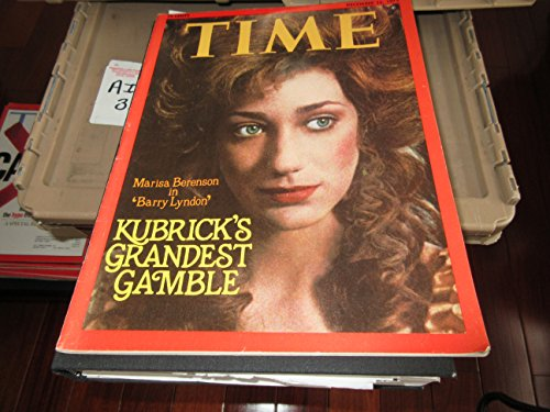 Time Magazine December 15 1975  Kubrick's Grandest Gamble  Marisa Berenson in Barry Lyndon