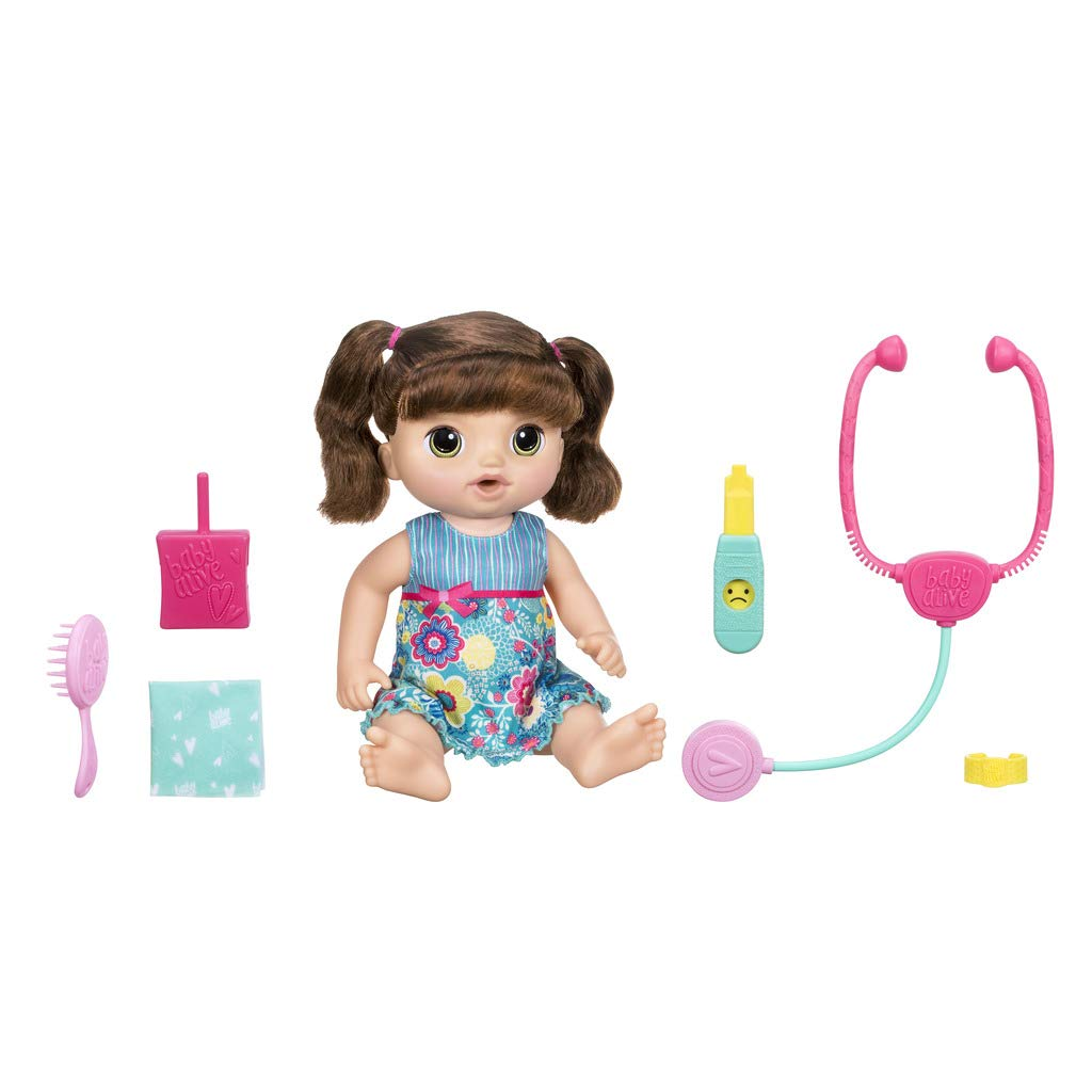 Baby Alive – and Cuddles Care Brunette, Multicoloured (Hasbro c0958105)
