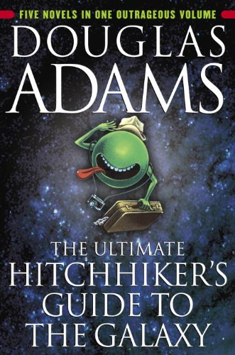 Sci-Fi Fantasy BargainAlert: Hitchhiker's Guide to The Galaxy Box Set