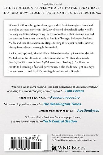 The PayPal Wars: Battles with eBay, the Media, the Mafia