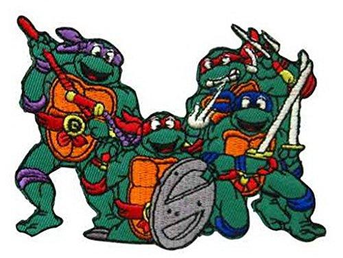 Athena Cartoon Teenage Mutant Ninja Turtles Embroidered Patch Size: 4