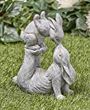 Tamie's Tees And Things Mother Bunny Kissing Her Baby Bunny Easter Statue Yard Decor