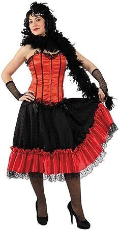 DISBACANAL Disfraz Cancan Mujer - -, S: Amazon.es: Juguetes y juegos