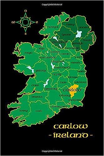 Carlow On Map Of Ireland.Carlow Ireland County Map Irish Travel Journal Republic Of Ireland