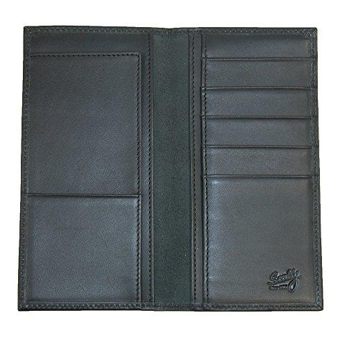 Western RG11 Secretary Ranger Scully 45 Black Wallet Harness Leather Fw1xS