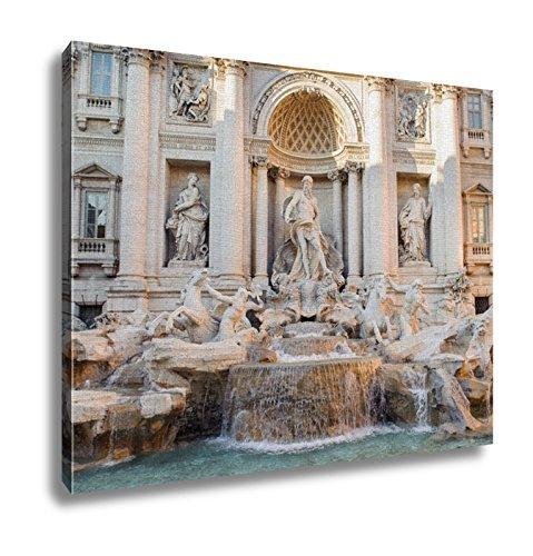 Ashley Canvas, Trevi Fountain Fontana Di Trevi In Italian, 24x30