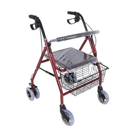 HHXX Carro de Compras Manual for Ancianos, Andador de ...