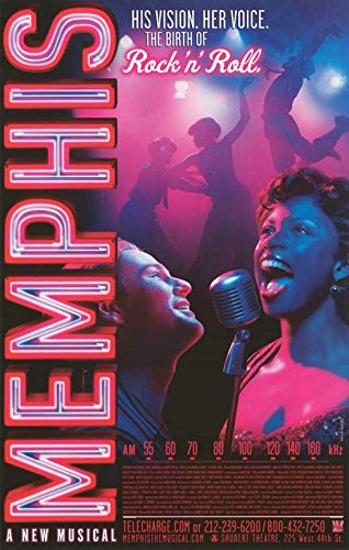 Pop Culture Graphics Memphis Poster (Broadway) Theater Show Play (Window Card) (14 x 22 Inches - 36cm x 56cm)(2009)