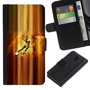 Stuss Case / Funda Carcasa PU de Cuero - Henry Jugador de fútbol - Samsung Galaxy S4 IV I9500