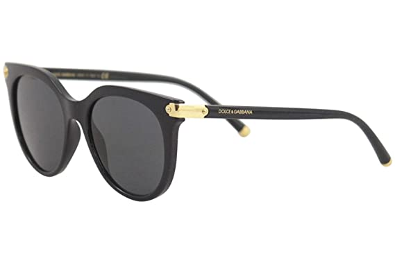 Amazon.com: Dolce and Gabbana DG6117 501/87 Black DG6117 ...