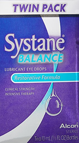 SYSTANE BALANCE Lubricant Eye Drops, Twin Pack, 10-mL Each
