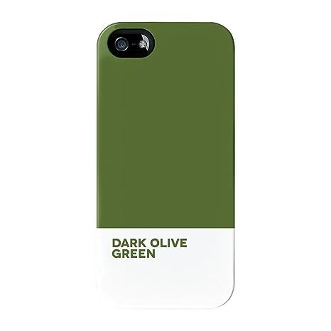 Armadillo Cases Tinta Unita Verde Oliva Scuro Di Alta Qualità 3d
