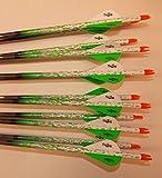 Easton ST Axis N Fused 340 Carbon Arrows w/Blazer Vanes Bullseye Rain Wraps 1 Dz.