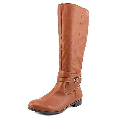 Vedaa Wide Calf Women US 7.5 Black Knee High Boot