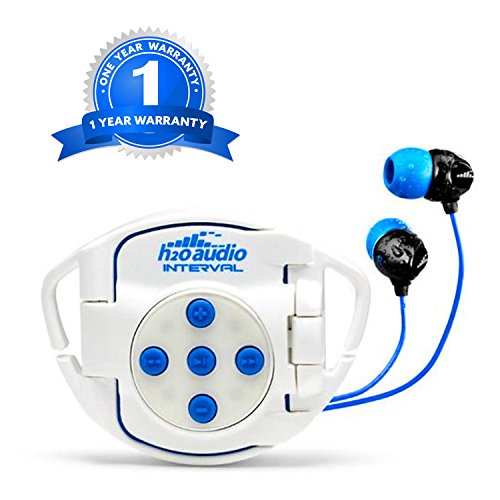 H2O Audio 100% Waterproof Headphones & Waterproof iPod Shuffle Case Swim Solution, Superior Sound and Construction includes 1 Year Warranty by H2O Audio