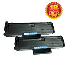 2x Imprimieux Toner MLT-D111S Noir compatible pour Samsung Xpress SL-M2020 2020W 2022 2022W 2070 2070W
