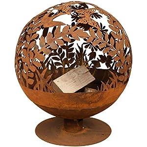 Esschert Design Fallen Fruits Oxidised Woodland Globe